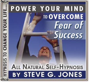 Overcome fear of success Hypnosis CD